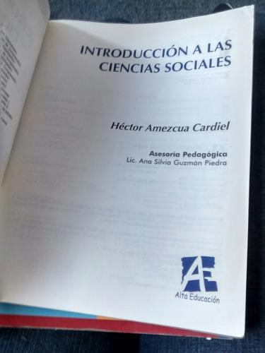introducción a las ciencias sociales - héctor amezcua cardie