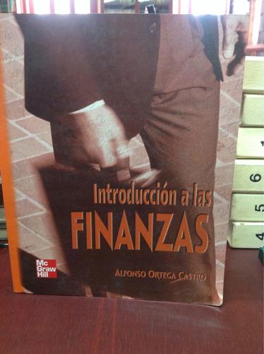 introducción a las finanzas. alfonso ortega
