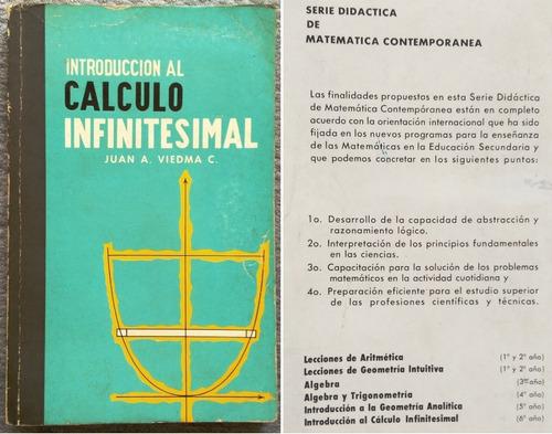 introducción al cálculo infinitesimal juan a. viedma hay más