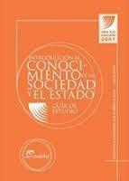 introducción al conocimiento de sociedad y estado guía eudeb