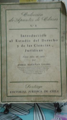 introducción al estudio del derecho // bascuñán