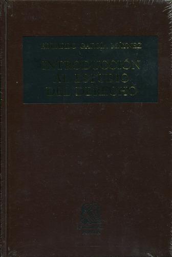 introduccion al estudio del derecho - garcia maynez / porrua