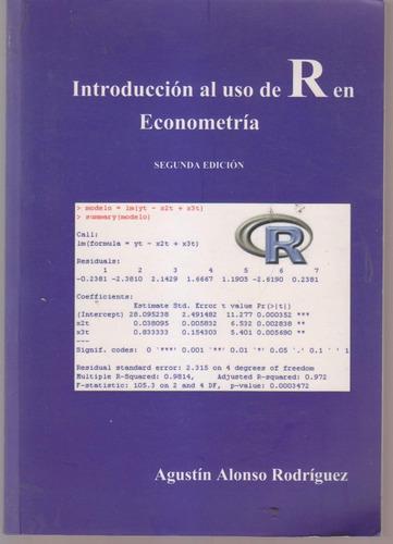 introduccion al uso de r en econometria alonso rodriguez