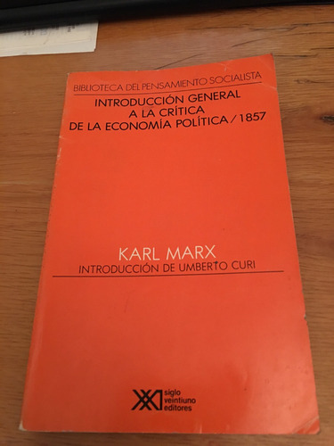 introduccion general a la critica de la ecomia politica 1857