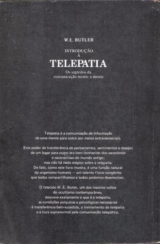 introdução à telepatia - w. e butler