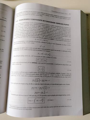 introdução à termodinâmica da engenharia química estado novo