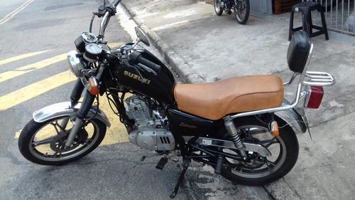 intruder 125 customizada