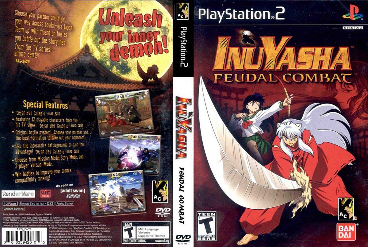 jogo inuyasha para ps2