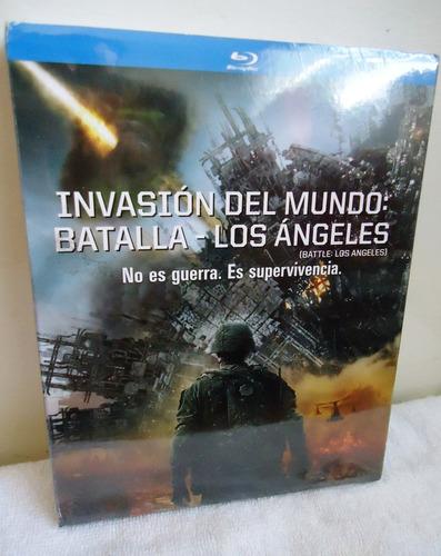 invasion del mundo batalla los angeles pelicula blu-ray