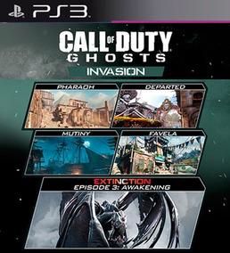 Todos Os Mapas Cod Ghosts Ps3 Psn - Games no Mercado Livre Brasil