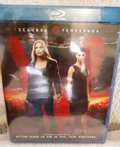 invasion extraterrestre temporada 2 dos en blu-ray