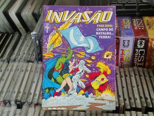 invasão 3 volumes