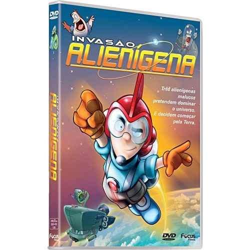 invasão alienígena  dvd original novo lacrado
