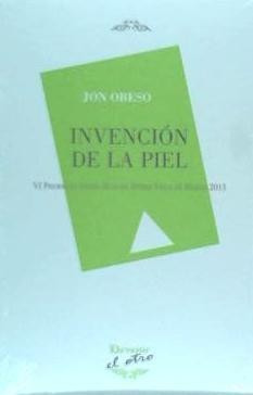 invención de la piel(libro poesía)