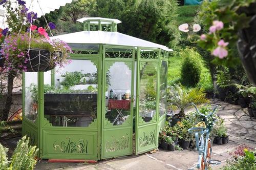 invernadero decorativo de 3m x 3m