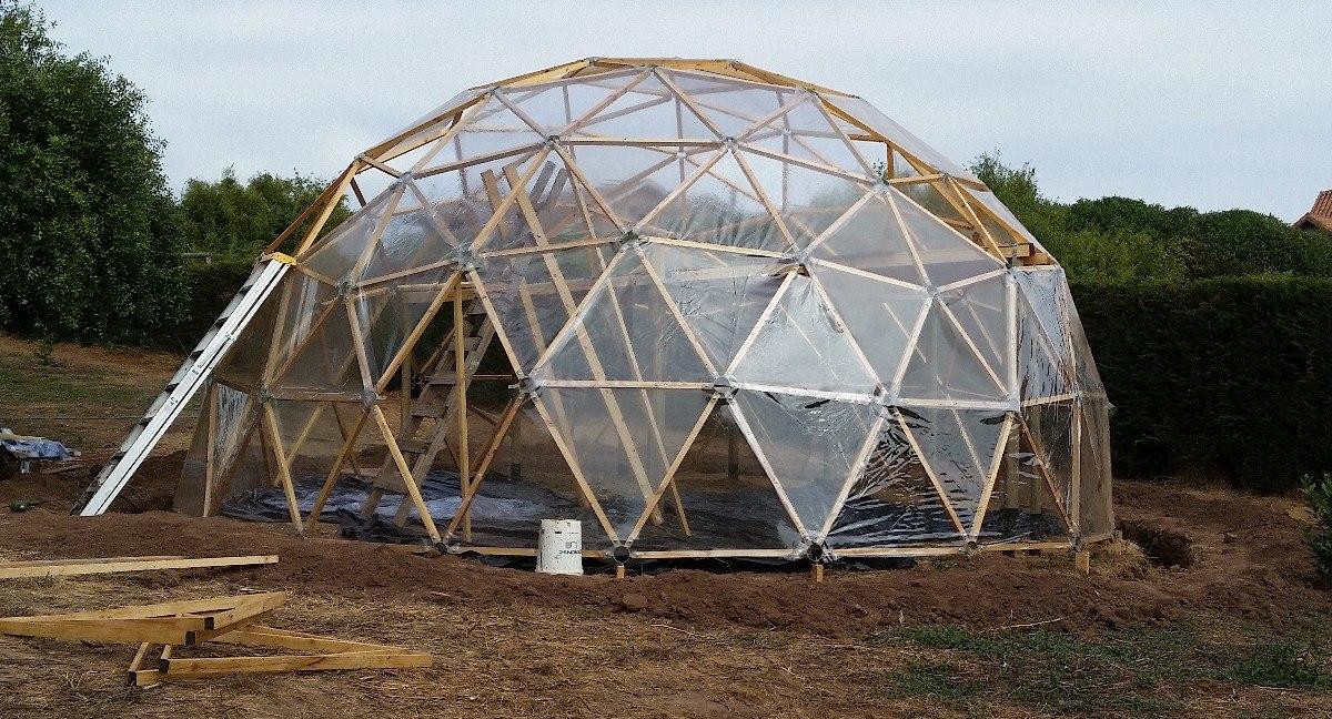 Invernadero domo cristal pvc instalado valor - Invernaderos de cristal ...