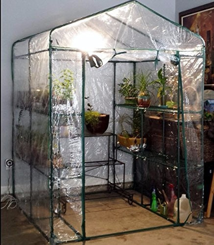invernadero portatil tamaño:1.52x1.52x1.82 mts greenhouse