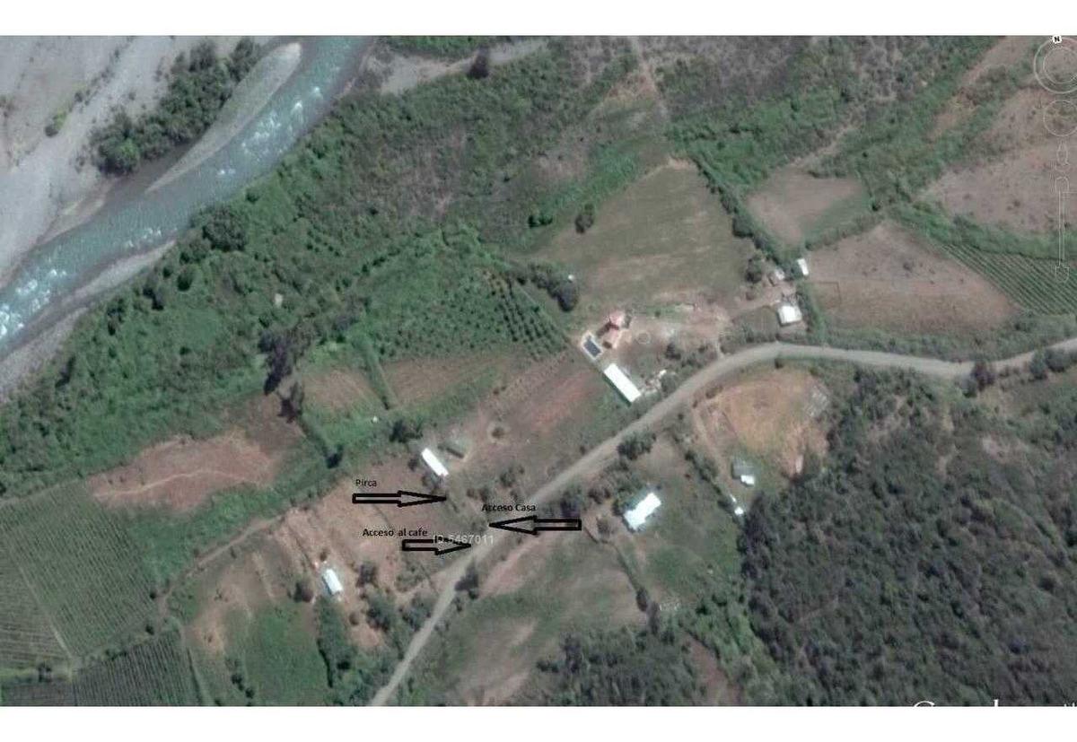 inversionistas cercano a baños de san pedro / paso vergara 2 hectáreas entre rio y carretera