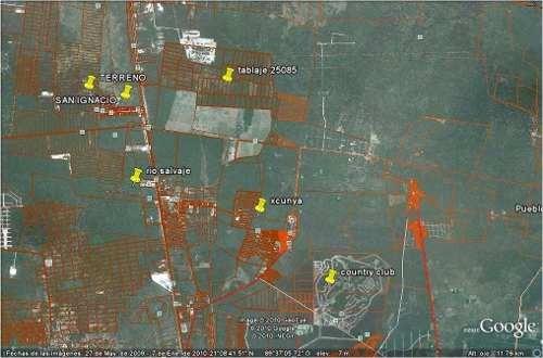 inversionistas venta de terreno en xcunya!!!!!