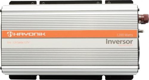 inversor 12v /220v 1200w onda modificada hayonik