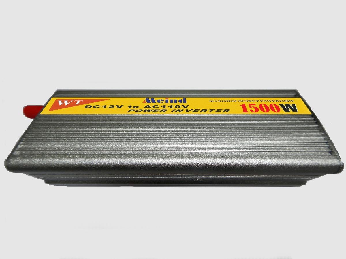 Inversor 1500w transformador conversor 12v 110v veicular - Transformador 220v a 12v ...