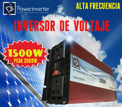 inversor 24vdc/220vac 1500w peak 3000w modified alto poder