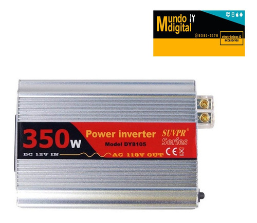 inversor 350w dc 12v in ac 220v out