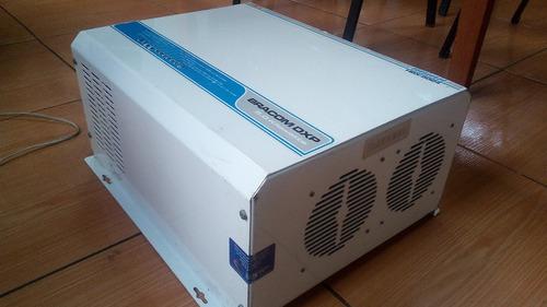 inversor 5 kw / 5000w 230vac y sistema cargador de baterías