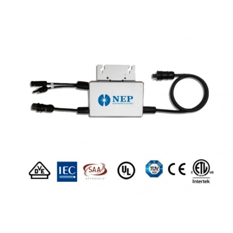 Inversor Bdm-250-120 Nep 110v 250w Para Interconexion A Cfe