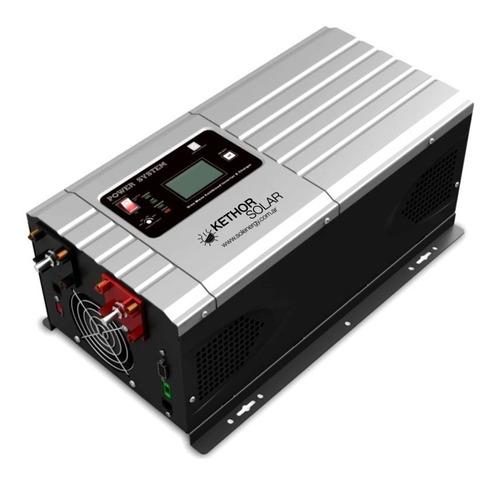 inversor / cargador de corriente 1kw/3kw 12/220v onda pura