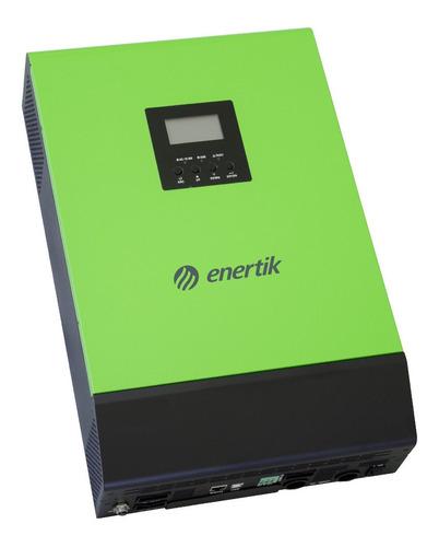 inversor cargador híbrido 48v a 220v 3000w on grid c/backup