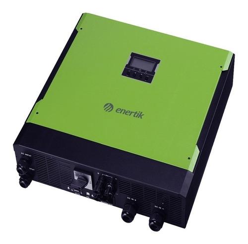 inversor cargador híbrido 48v a 220v 5500w on grid c/backup