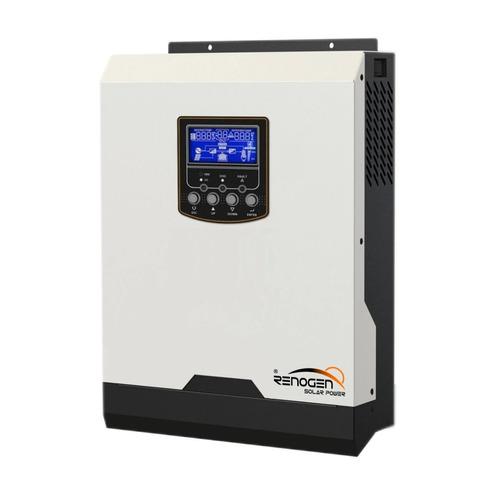 inversor cargador solar 1000w 12v 220v reg pwm 50a renogen