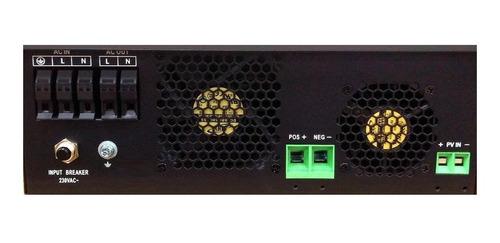inversor cargador solar 3kva 6kva 24v 220v pwm 50a onda pura