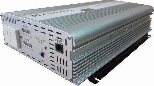 inversor corriente de 12v 1500w probattery soprta pico 3000w