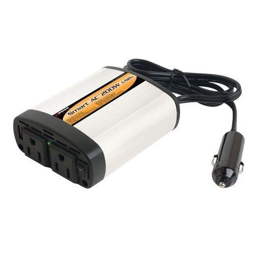 inversor de corriente 200 w watts wagan env gratis no truper