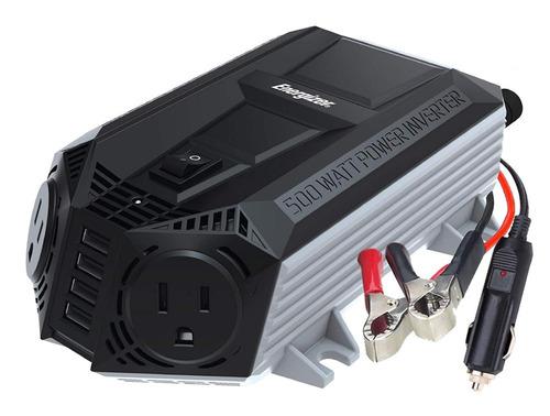 inversor de corriente 500w 12v-110v convertidor energizer