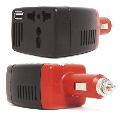 inversor de corriente automotriz de 12v a 110v 150w coche ca