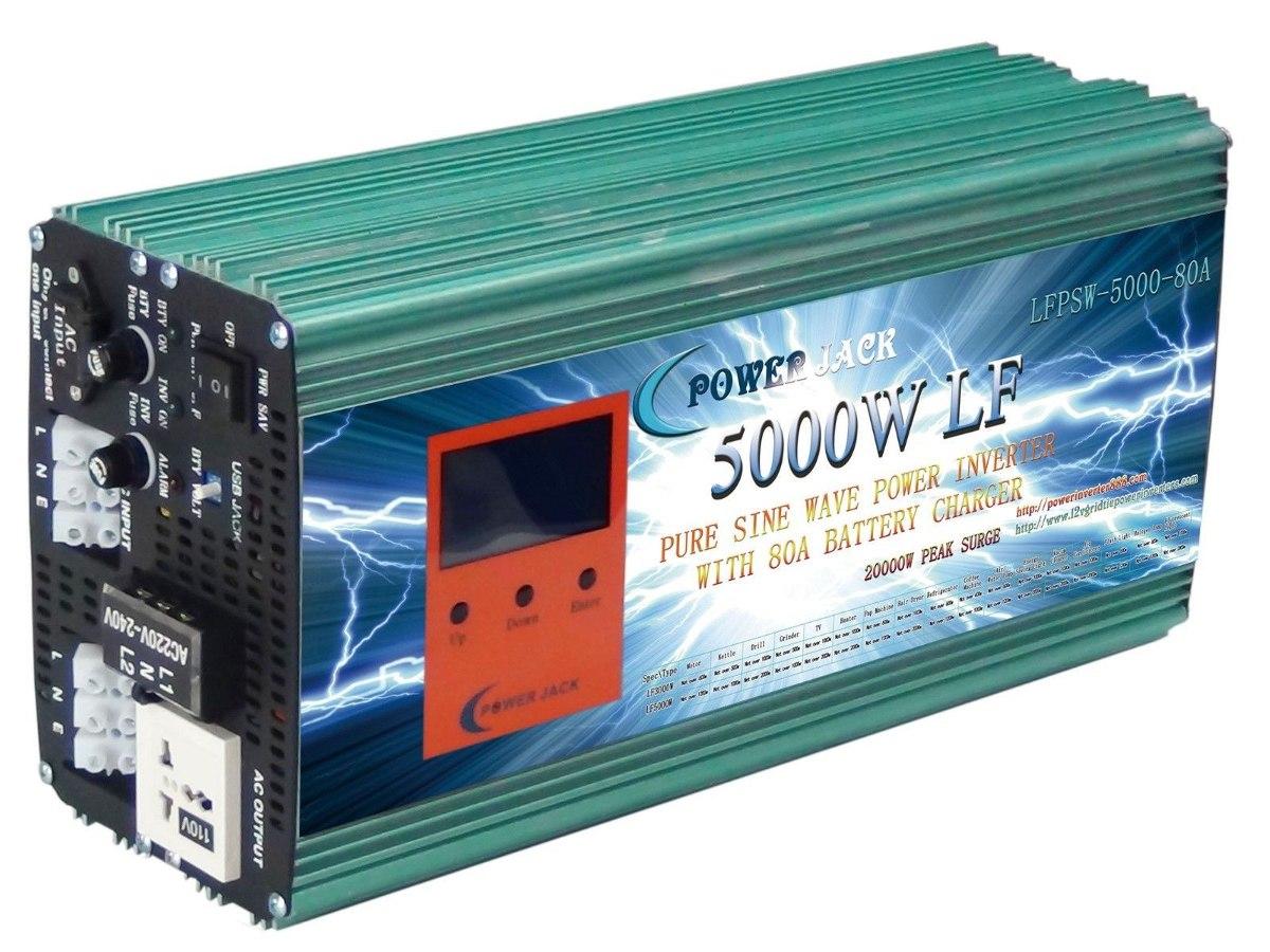 Inversor de corriente onda pura 5kw 15kw 24v 110 220vac - Inversor de corriente ...