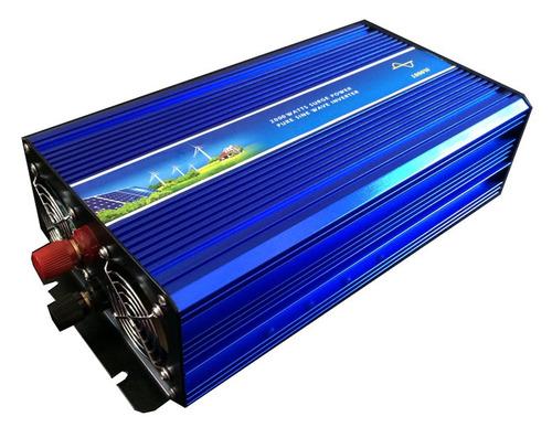 inversor de corriente onda pura sinusoidal 2000w (baterias)