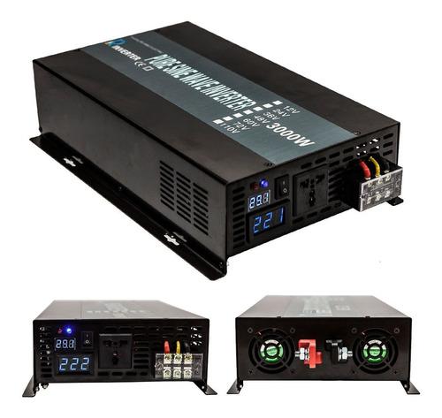 inversor de corriente onda pura sinusoidal 24v a 110v 2500w
