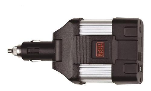 inversor de corriente para auto 100w black + decker