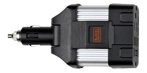 inversor de corriente para auto 12v a 120v  black and decker