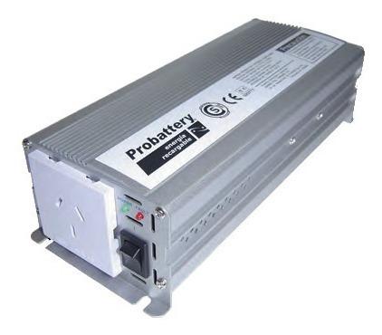 inversor de corriente probattery12 a 220 300w córdoba
