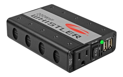inversor de corriente whistler xp200i usb 200w 400w 110v