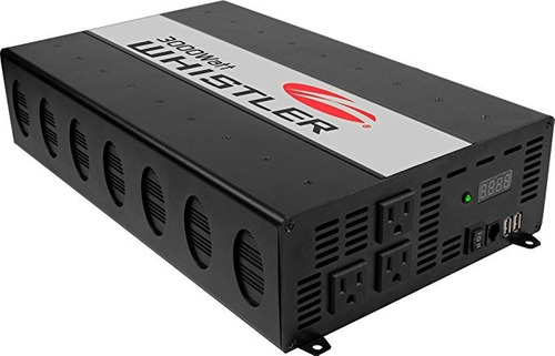 inversor de corriente whistler xp3000i usb 3000w 6000w 110v