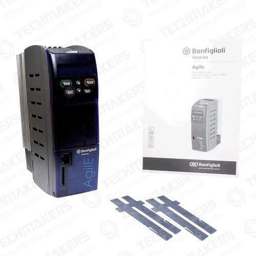 inversor de frequência agile bonfiglioli - 1cv - 380v ~ 440v