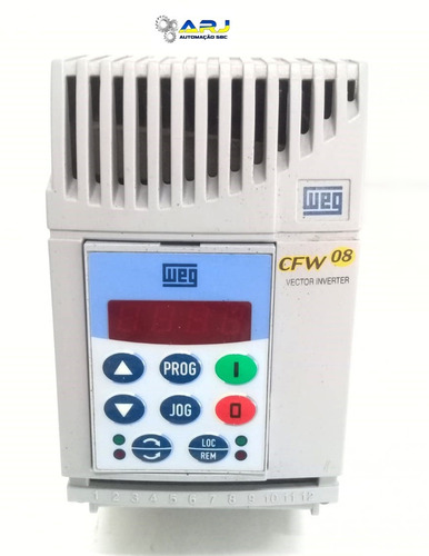 inversor de frequência cfw08 1cv 220v pronta entrega