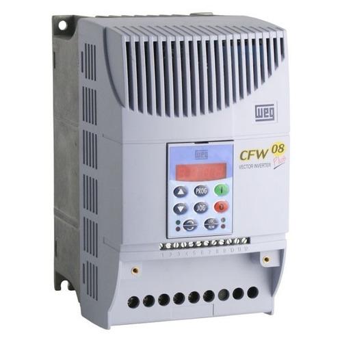 inversor de frequência cfw08 2cv 7a 220v weg trifásico