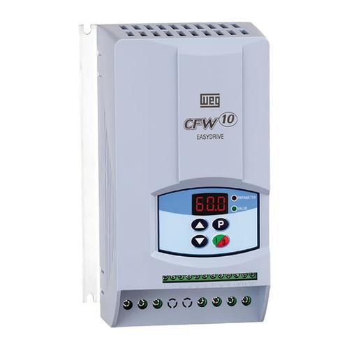 inversor de frequência cfw10 1cv 220v monof. 4a clean - weg